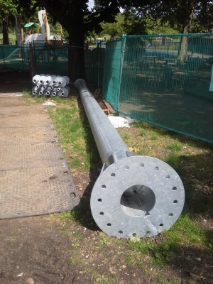 tower for screw piles london