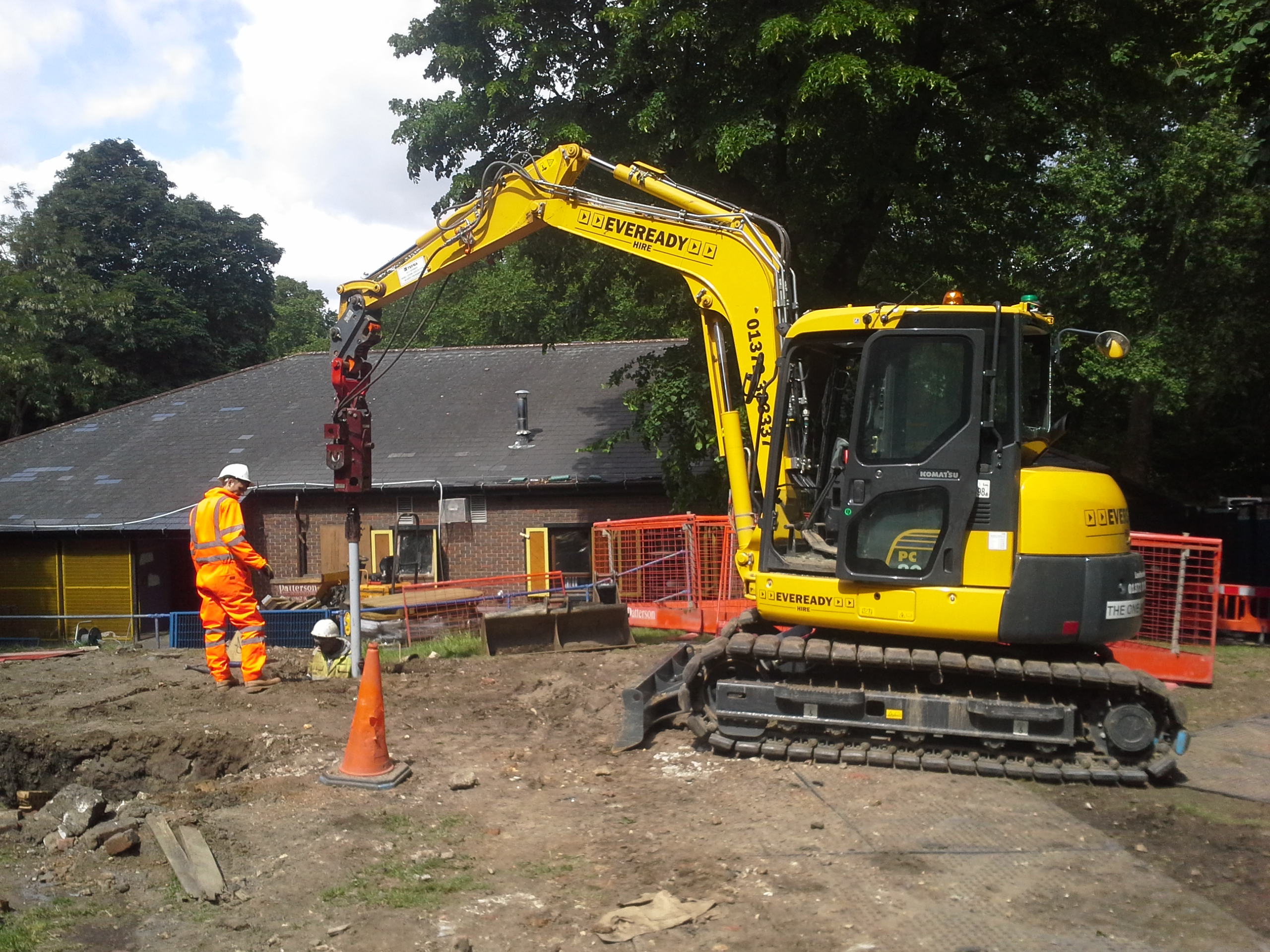 Piling Systems and Services | Advanced Mini Piling Systems