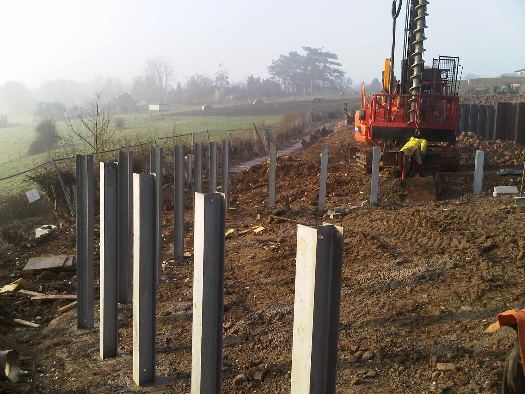 Piling Systems And Services Advanced Mini Piling Systems