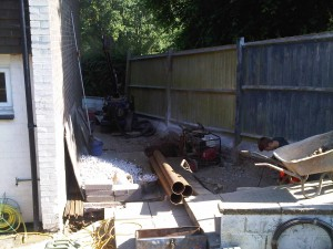 Frome Piled pads piling